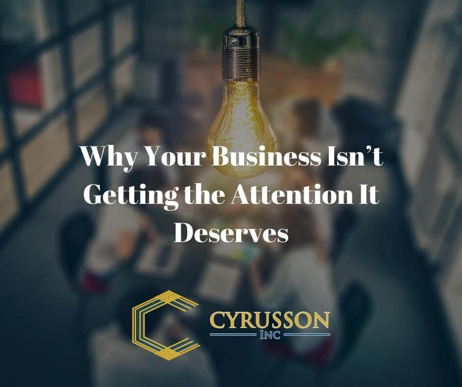 Bring Attention To Your Business