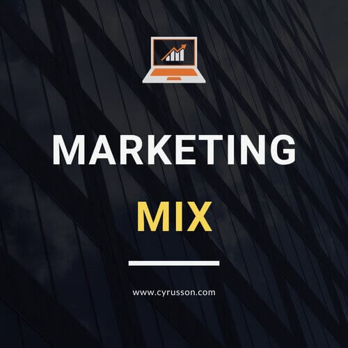 Digital Marketing Planning Marketing Mix
