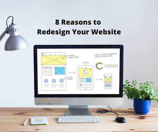 re-design your website