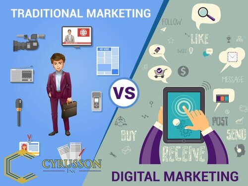 Traditional and Online Marketing