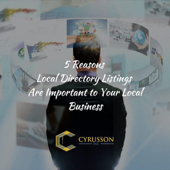 5 Reasons Local Directory Listings Are Important To Your Local Business