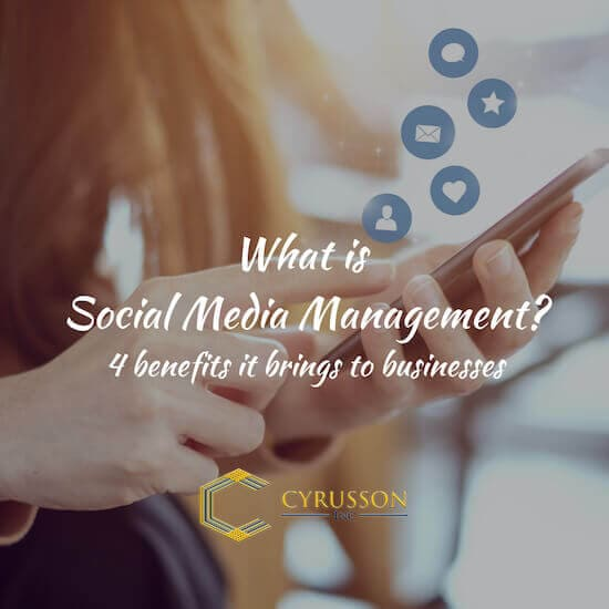 What is Social Media Management (SMM)?