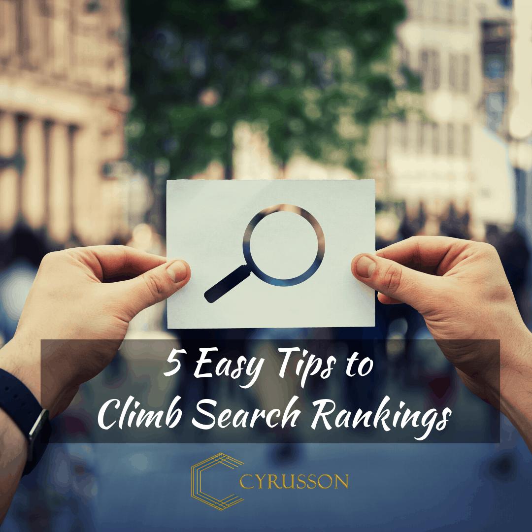 Climb Search Rankings