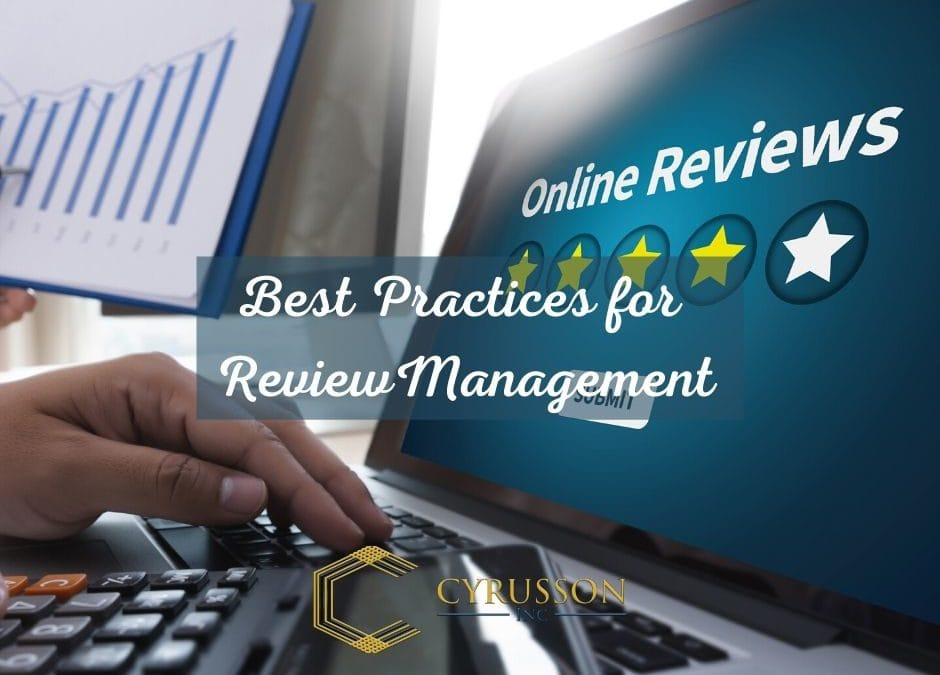 Best Practices for Review Management