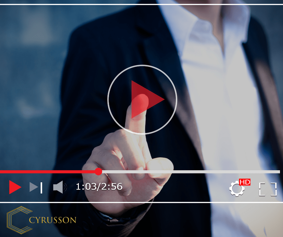 Boost Your Brand With Video Marketing | Cyrusson