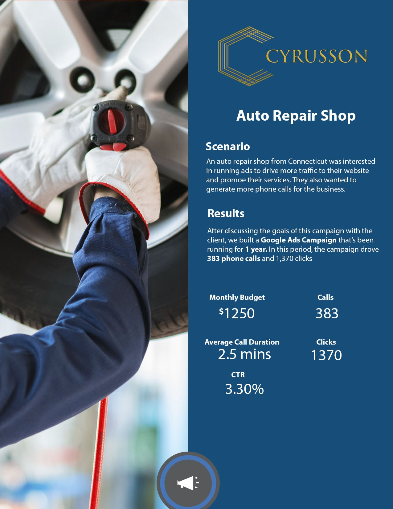 Google Ads Case Study – Auto Repair