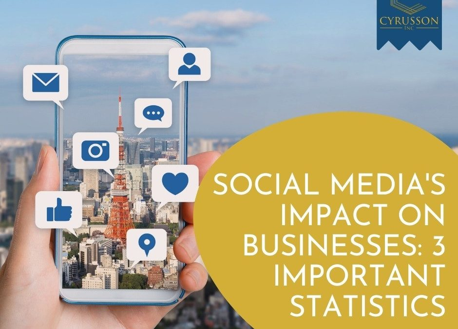 Social Media's Impact on Businesses: 3 Important Statistics