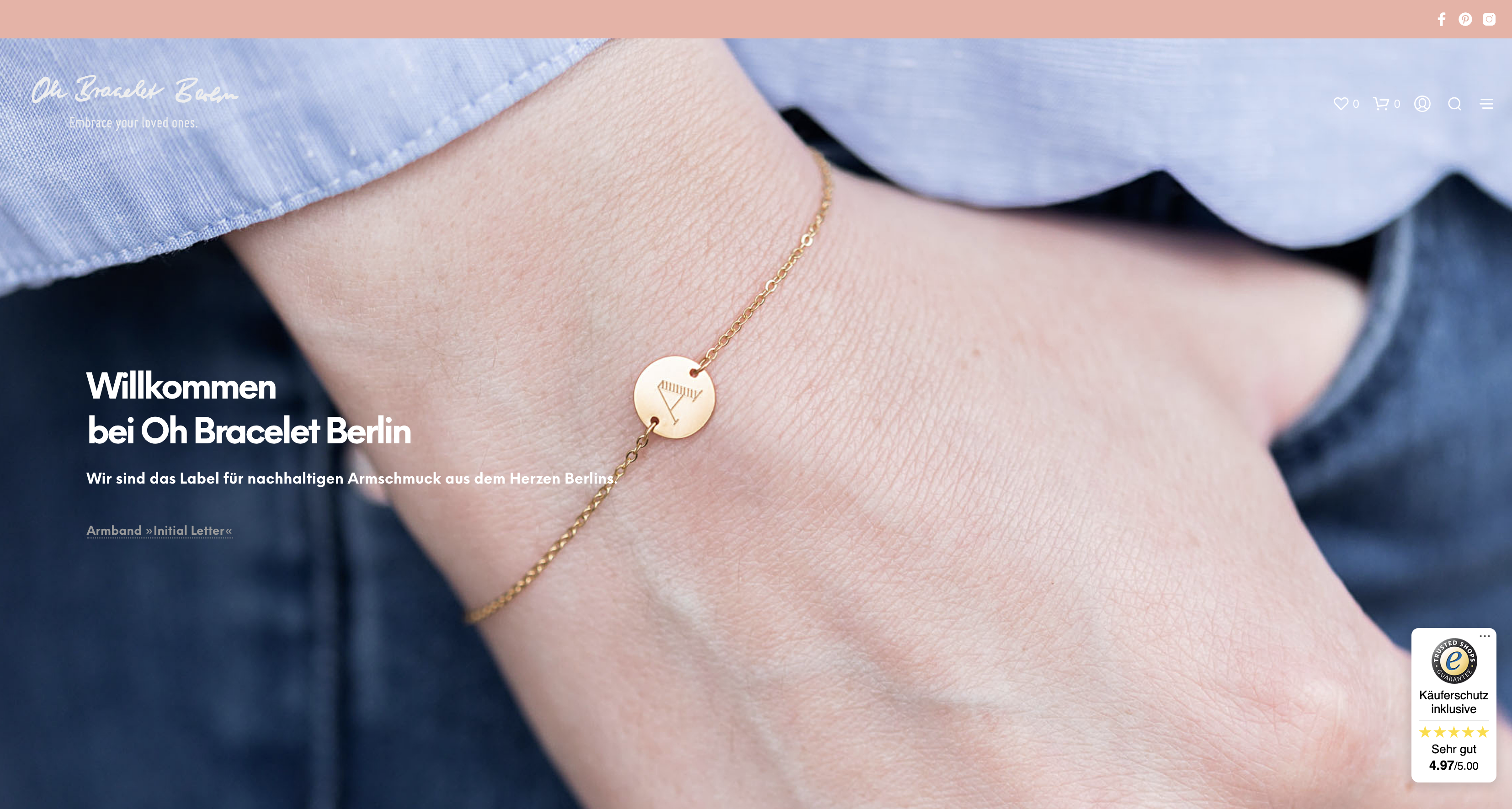 E-Commerce Bracelet Store