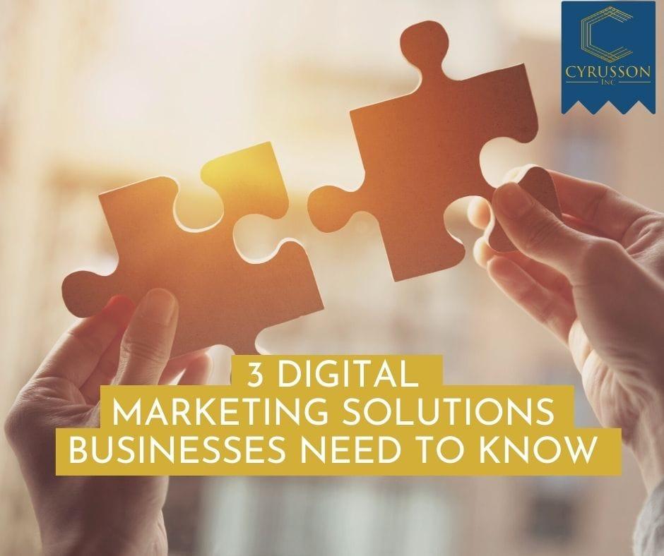 digital marketing solutions   Cyrusson