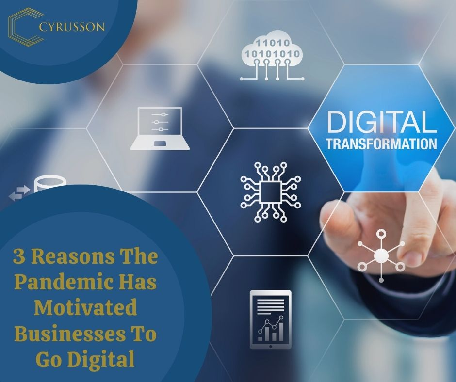 3 Reasons The Pandemic Has Motivated Businesses To Go Digital Marketing   Cyrusson