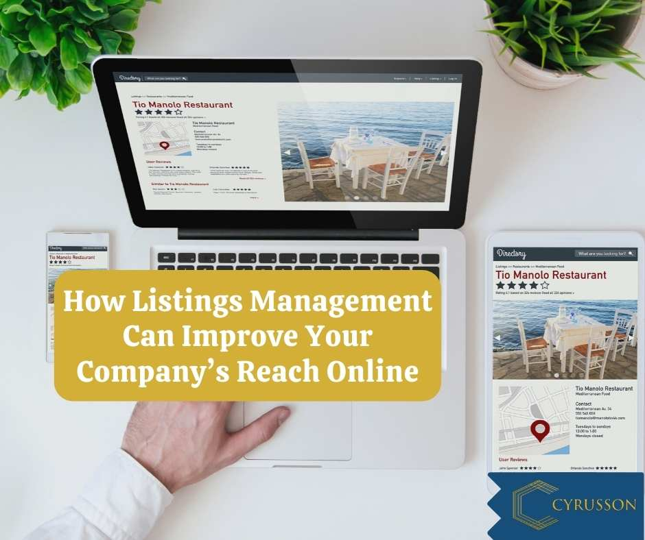 How Listings Management Can Improve Your Company's Reach Online   Cyrusson