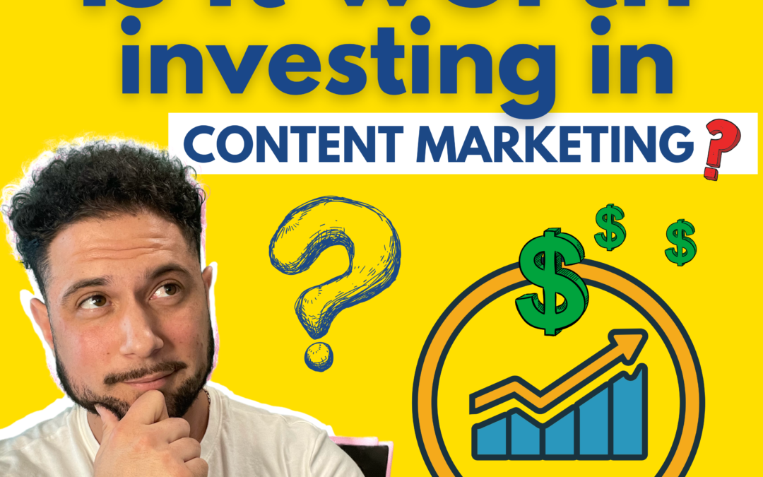 Is Content Marketing Worth It? What Are Essential Metrics To Consider When Choosing Keywords For Content?? [Video]