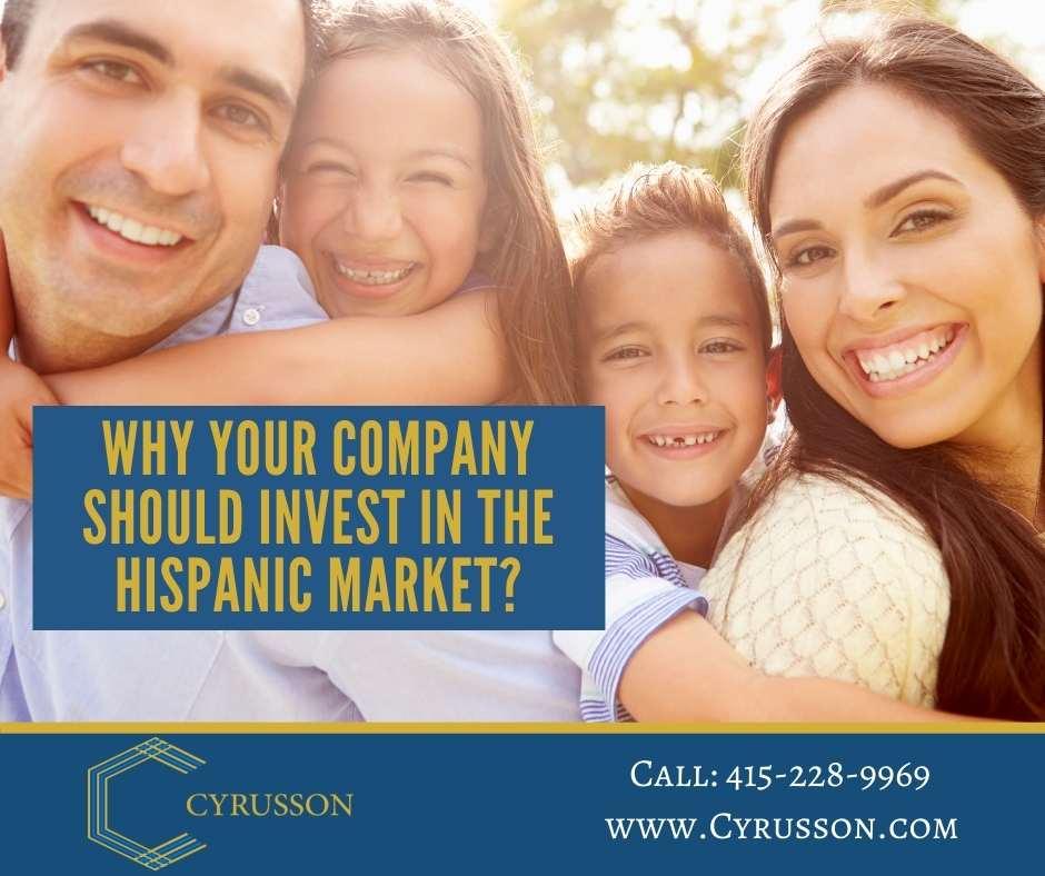 Hispanic Market   Spanish Marketing Campaign   Cyrusson Inc