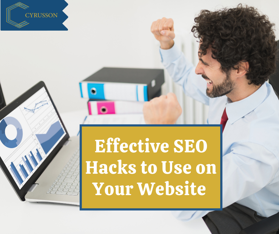 5 Effective SEO Hacks To Use On Your Website on 2021